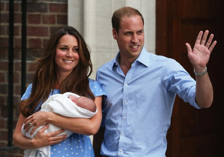 Britain's Duchess of Cambridge gives birth to boy
