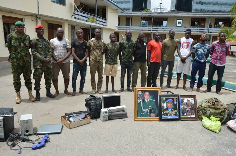 Impersonation: Army parades dismissed officers, civilians