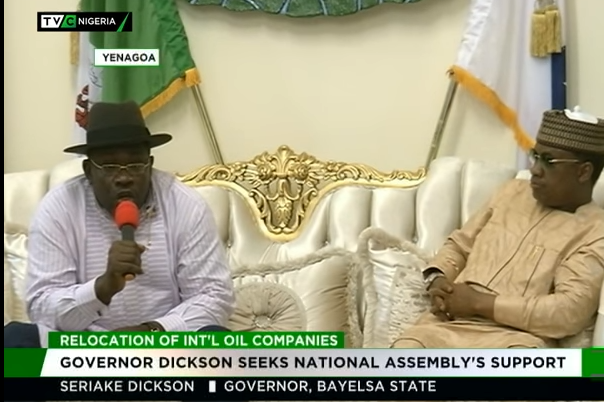 Oil Companies' relocation: Joint NASS Committee visits Bayelsa