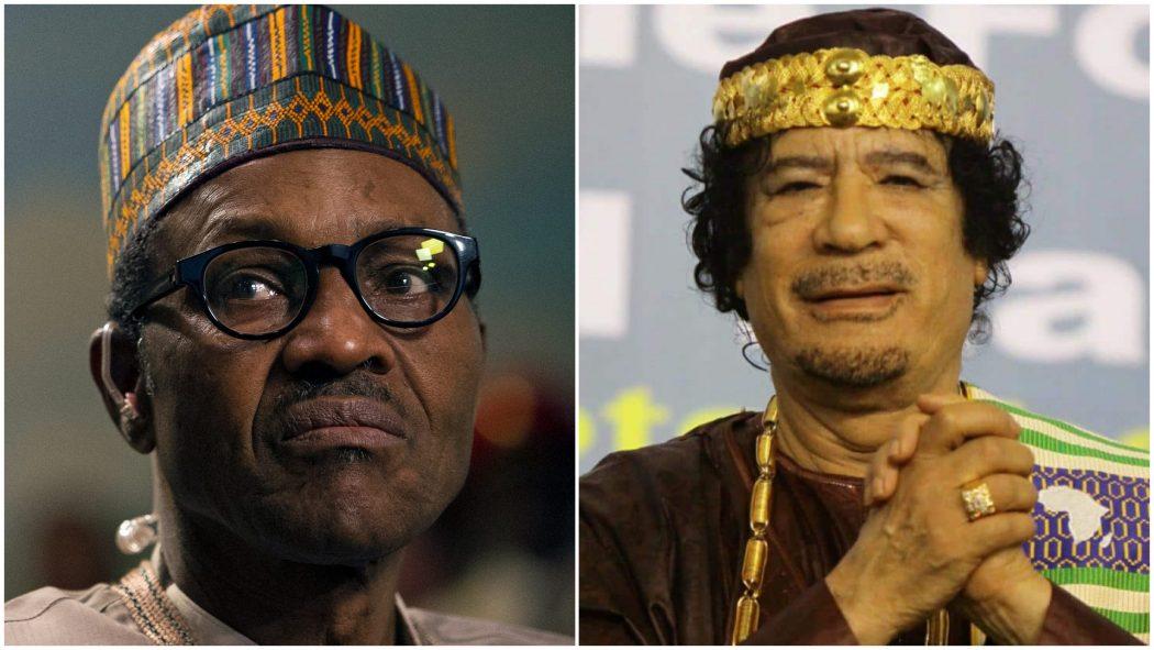 Buhari blames Gadaffi for killer-herdsmen