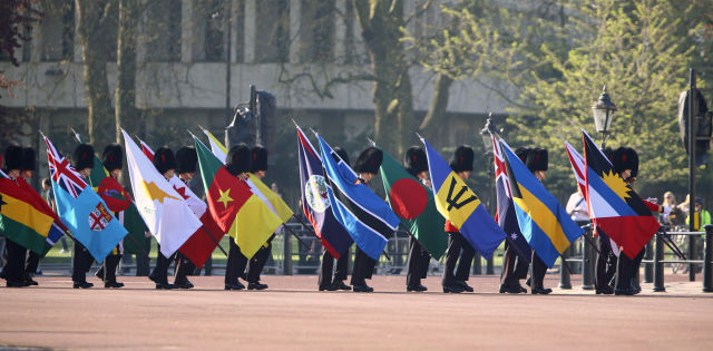 Commonwealth leaders officially welcomed to London