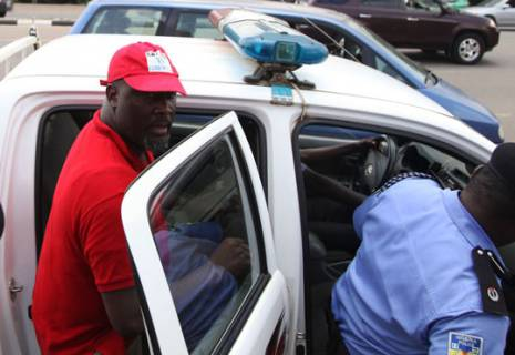 At last, Dino Melaye surrenders to Police in Abuja