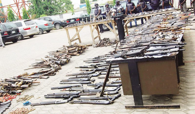 Police continue recovery of illegal firearms