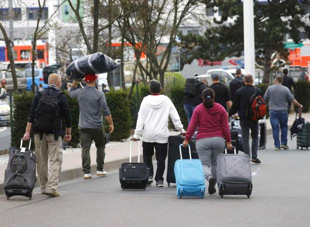 German airport hit by public sector strikes, flights cancelled