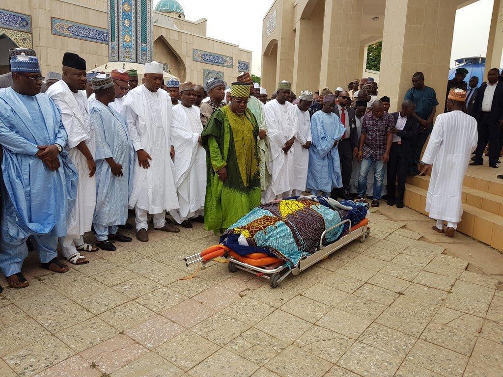 Tambuwal's spokesman, Imam Imam buried in Abuja
