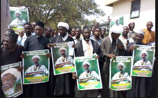 El-Zakzaky: ISMN takes protest to U.S. embassy
