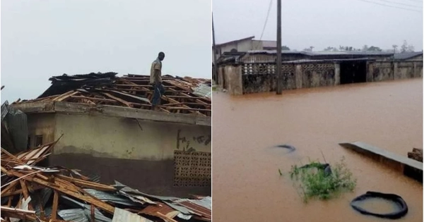 Ilorin residents count losses as rainstorm renders hundreds homeless