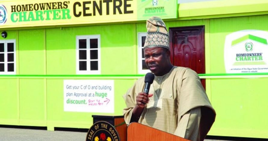 Ogun to speed up issuance of Certificate of occupancy
