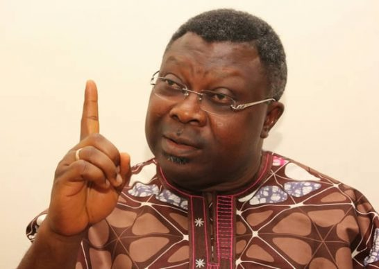 Group kicks as Omisore's supporters burn PDP flag