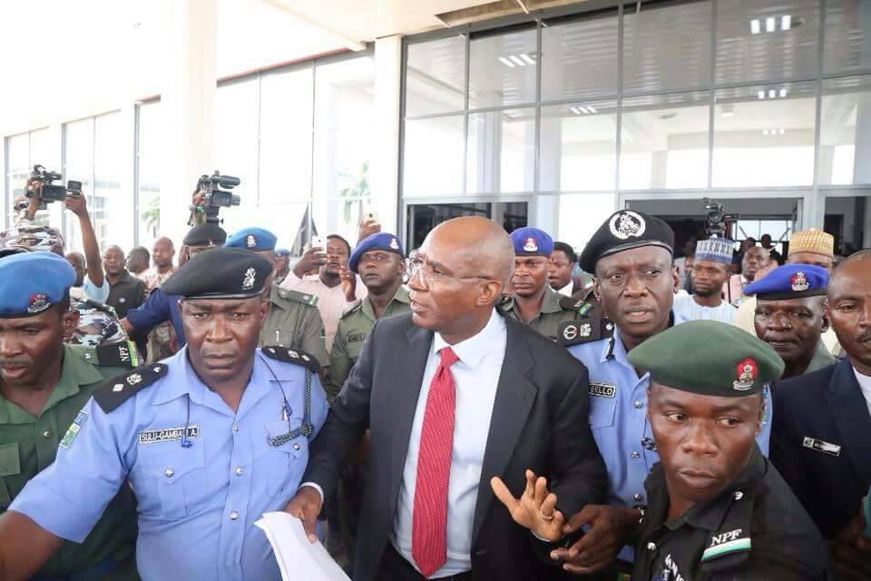 #MissingMace: Police arrest, release suspended Senator Omo-Agege