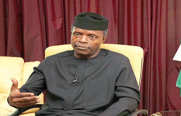 Osinbajo tasks young innovators on integrity, honesty