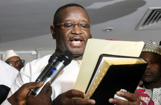 Julius Maada Bio sworn in as Sierra Leone's new president
