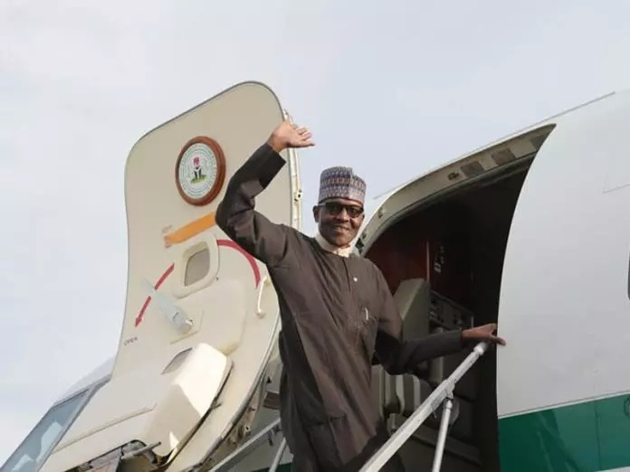 President Buhari Departs London For Abuja After Commonwealth Summit (VIDEO)