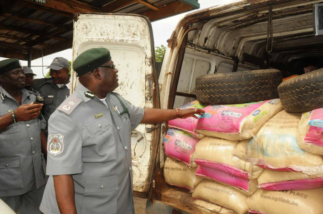 Customs seizes smuggled goods worth N150m
