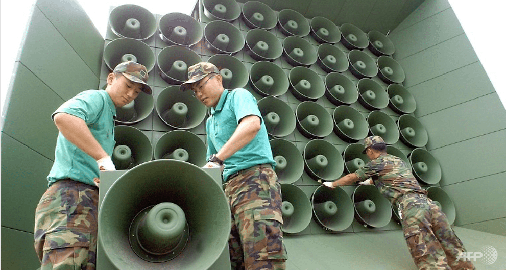 North, South Korea agree to remove propaganda loudspeakers from border