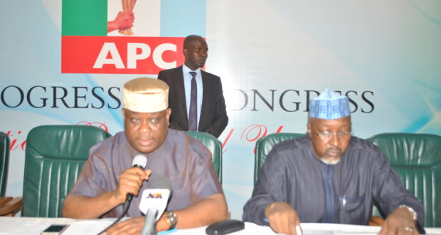 APC inaugurates 5-man State Congress committees