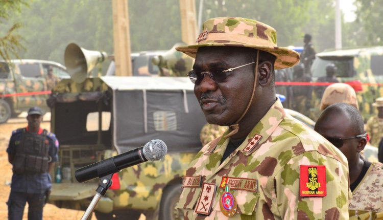 Buratai urges Mubi residents to be vigilant