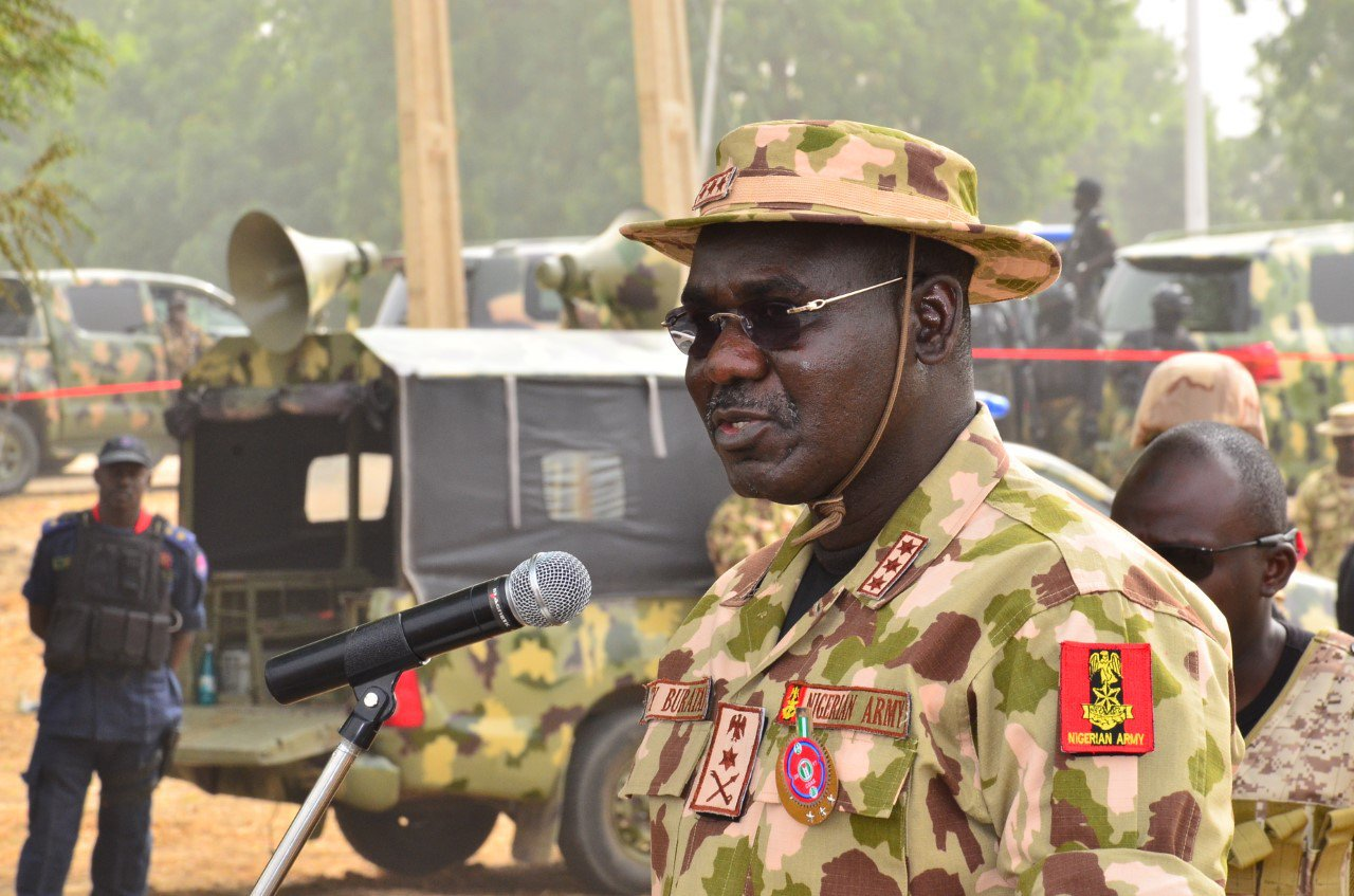 Buratai charges officers to step up fight against kidnapping, Cattle rustling