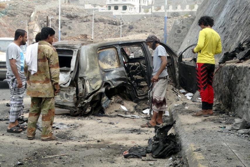 At least seven killed in Libyan car bomb explosion