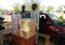 Police parade suspected illicit drugs traffickers in Katsina