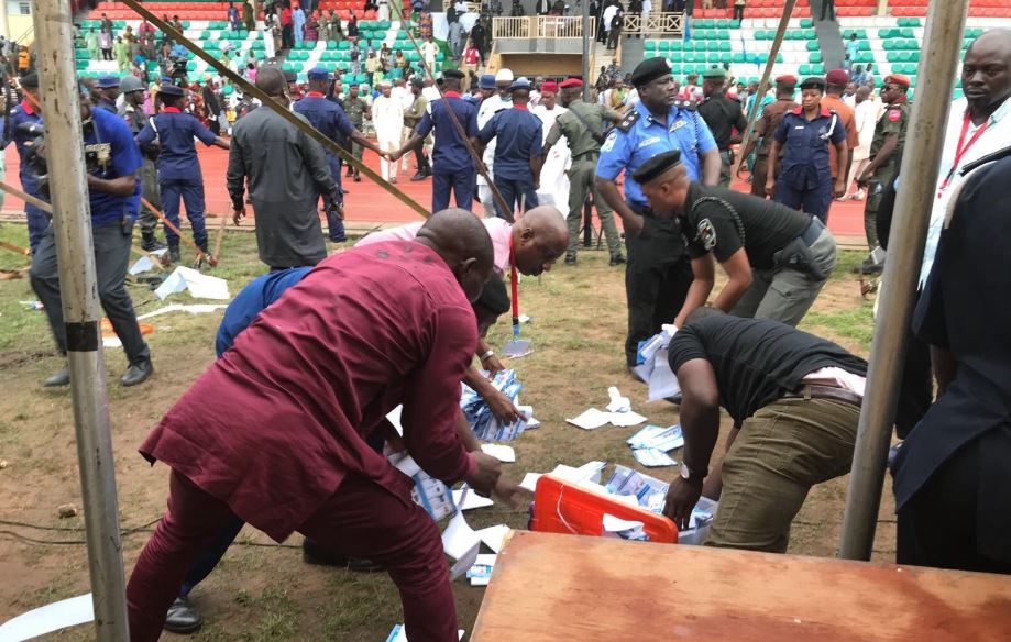 BREAKING: Ekiti APC governorship primary suspended indefinitely