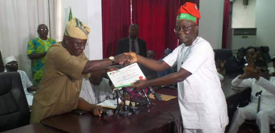 Ekiti 2018: PDP candidate receives certificate of return