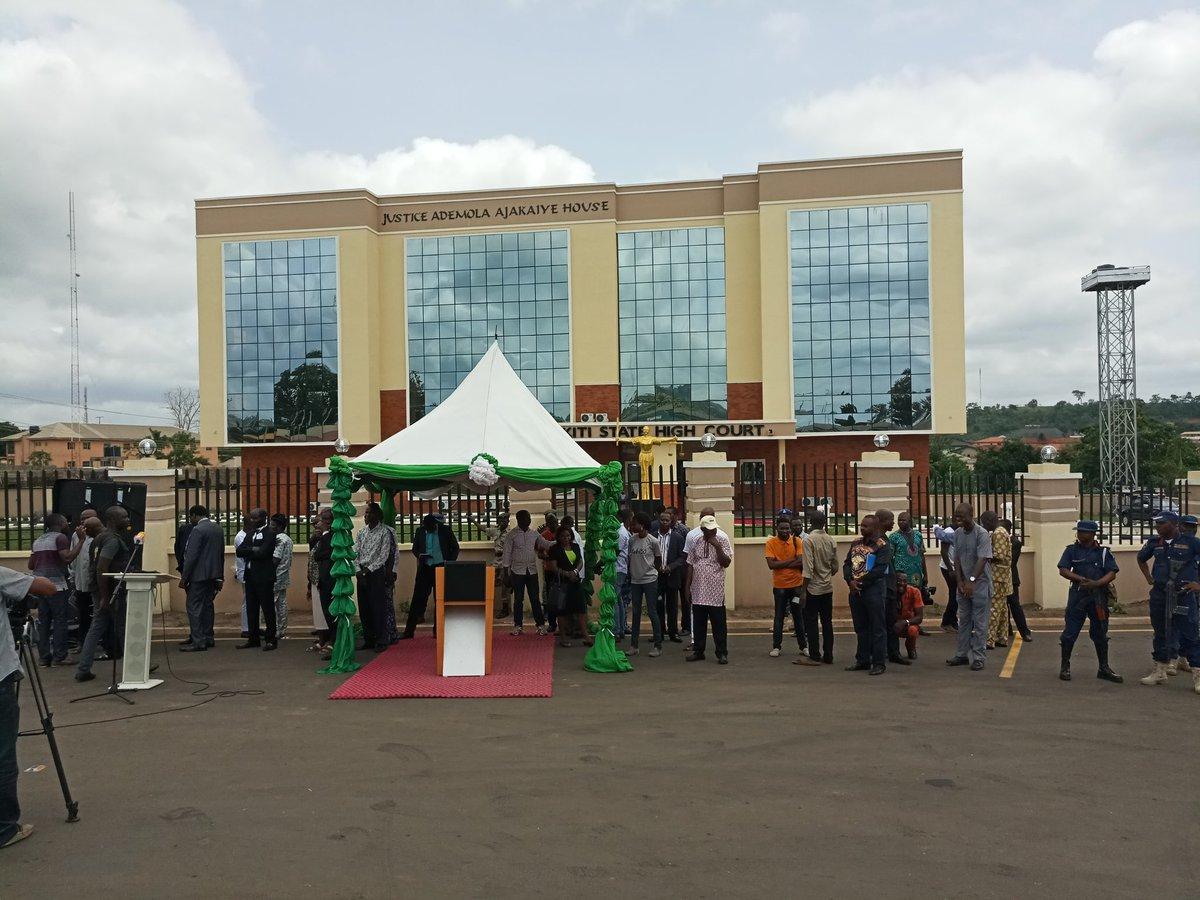 Fayose inaugurates new Court Complex in Ado Ekiti