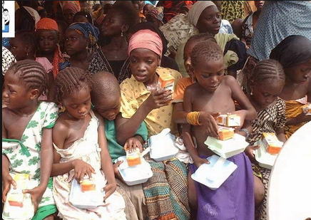 NGO focuses on clothing, feeding African children