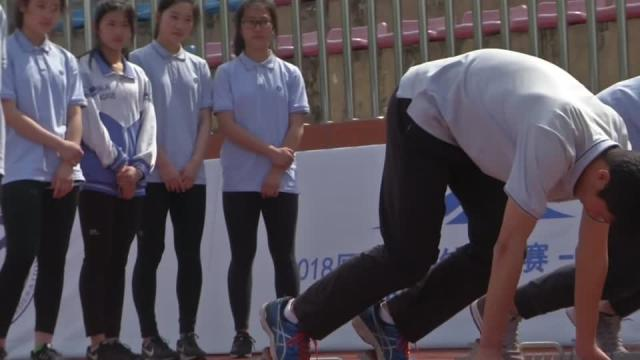 Justin Gatlin hosts sprint clinic at Chinese school