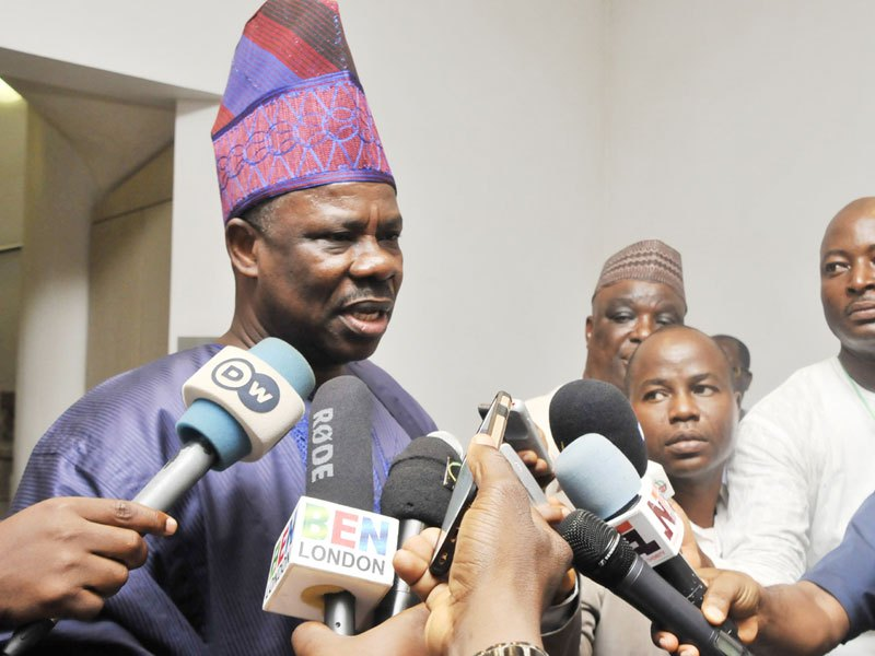 Amosun commends delegates for credible LG Congresses