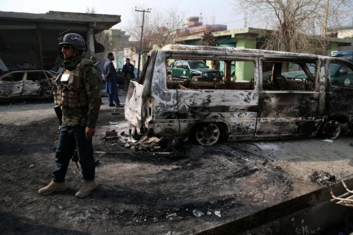 Six killed, dozens injured in Jalalabad multiple blasts
