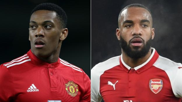 Russia 2018: Lacazette, Martial out of French squad