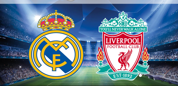 Real Madrid battle Liverpool in Champions league final
