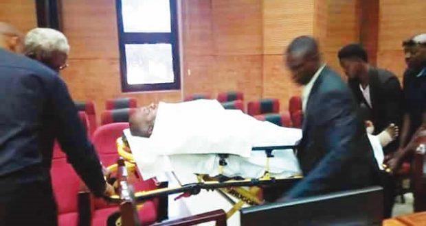 Ex-PDP Spokesman, Olisa Metuh collapses in Court