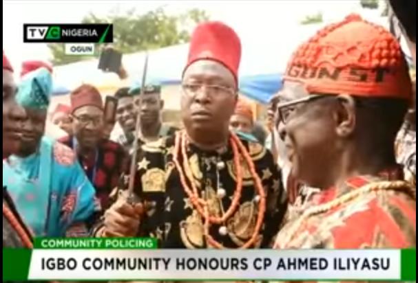 Igbo Community honours Ogun CP Ahmed Iliyasu
