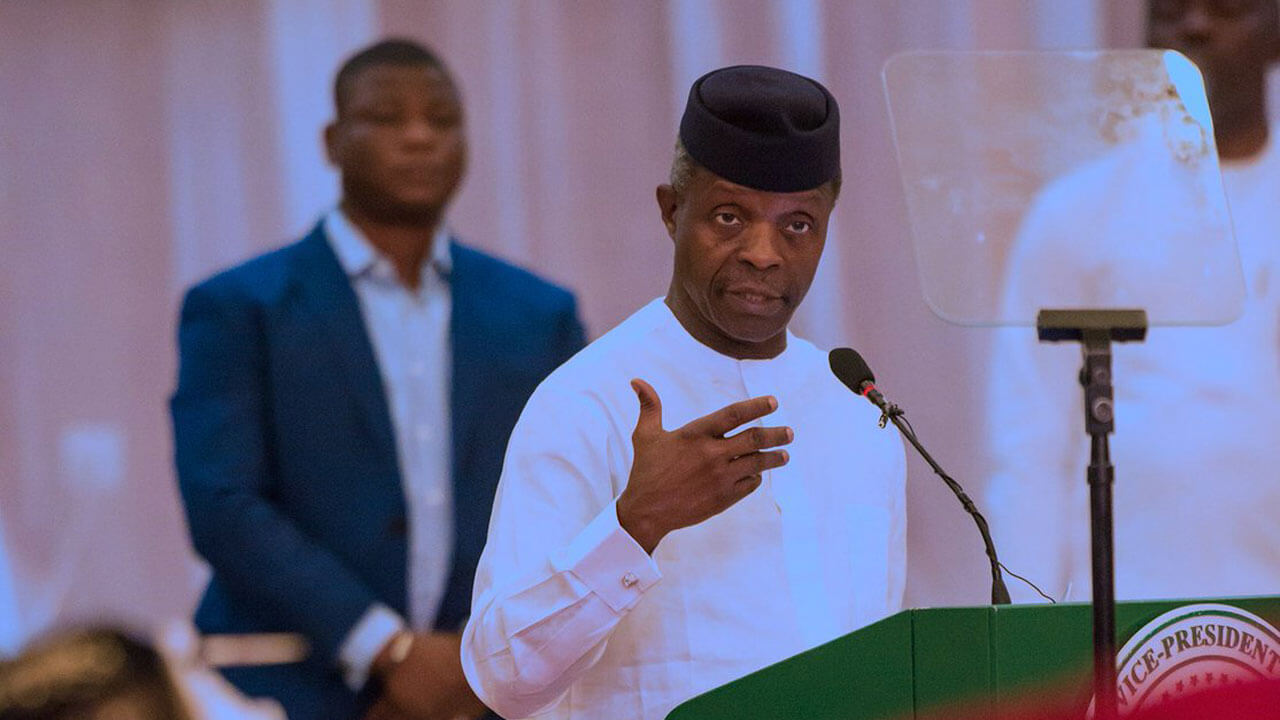 Our anti-corruption efforts receiving global recognition – Osinbajo