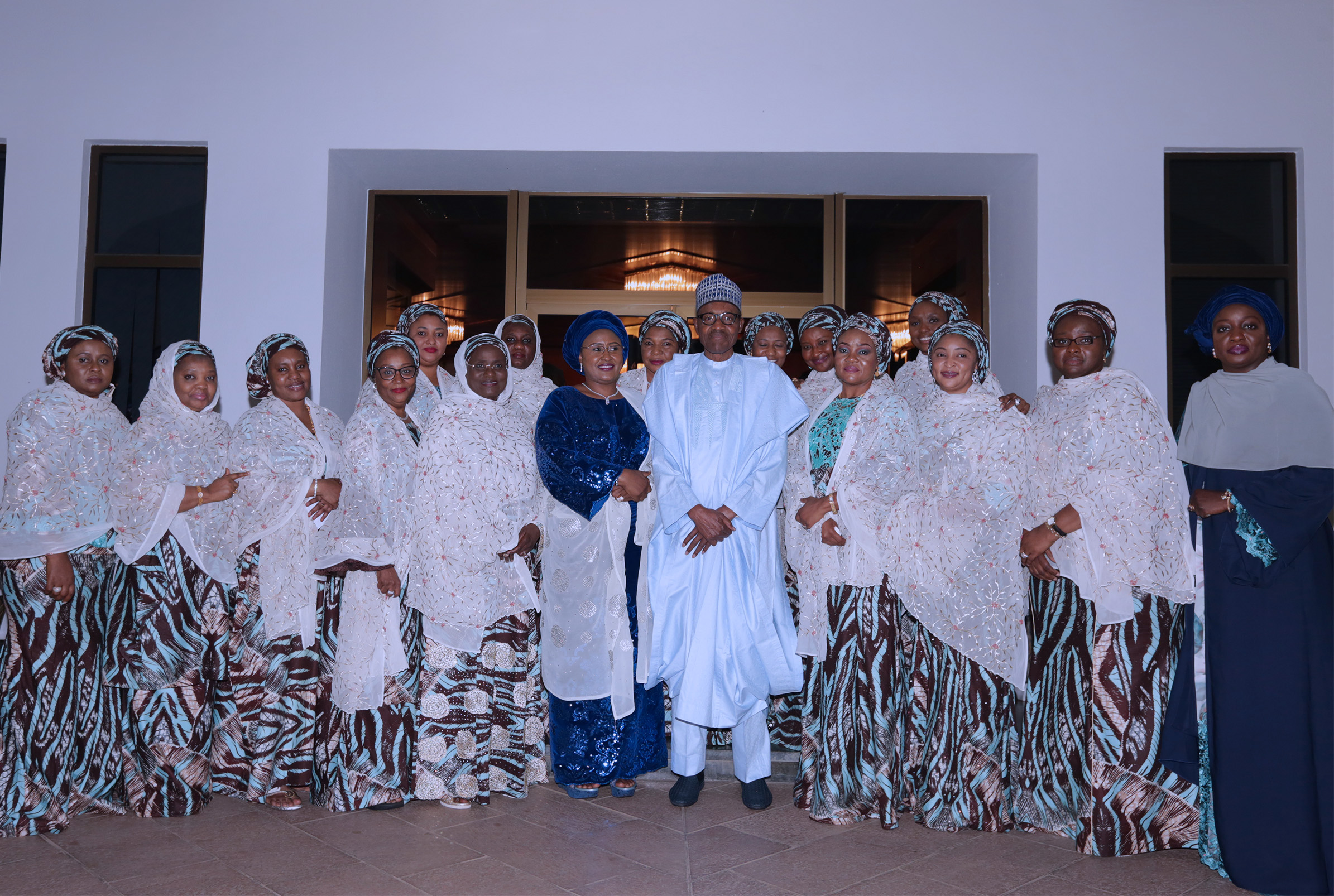 President Buhari urges governors to support their wives' humanitarian activities