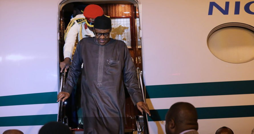 Buhari returns from UK medical trip