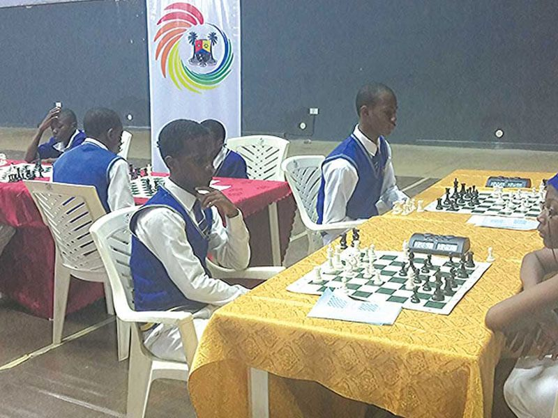 21 schools, scores of pupils square up in PWC Chess4Change contest