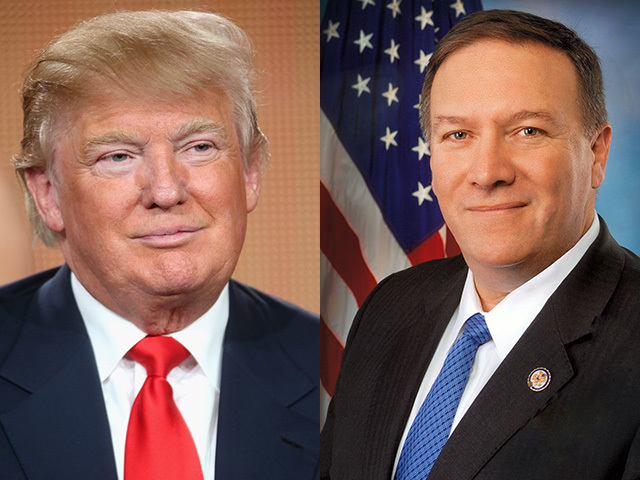 US Secretary of State Pompeo praises Trump