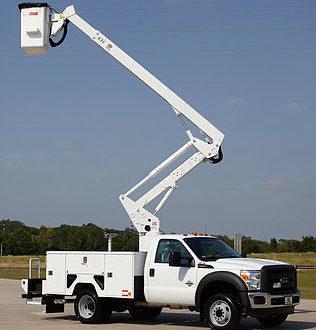 USAID donates bucket truck o Eko electricity company