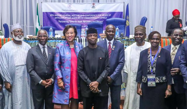 More than $50bn lost annually to corruption – Osinbajo