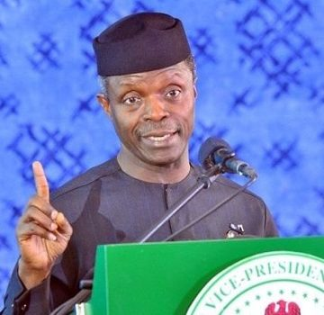 Osinbajo charges NBC to tackle border related issues