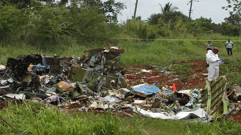 Plane crashes in Cuba killing more than 100, investigation underway