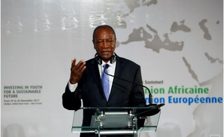 Guinea's president reshuffles government as he faces strikes, civil unrest