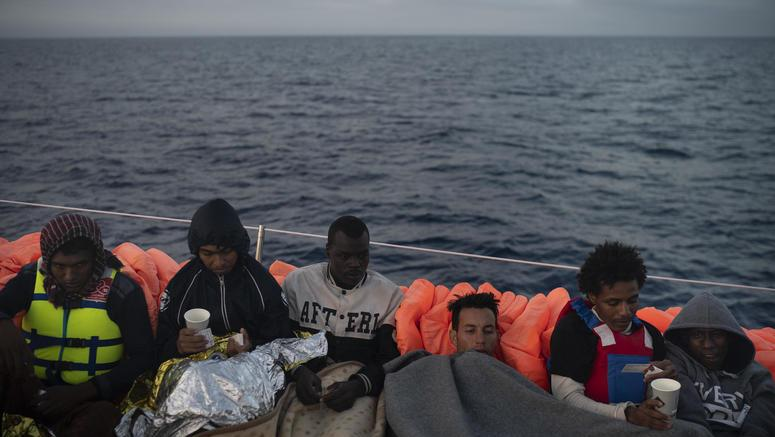 Nigerian migrants sue Italy for aiding Libyan coast guard