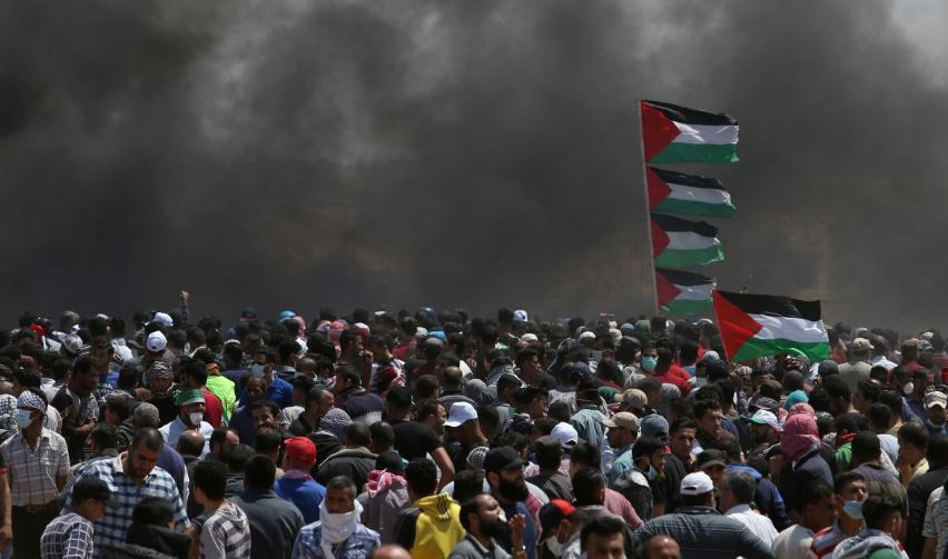 Israeli forces kill 28 in Gaza protests as anger mounts over U.S. Embassy