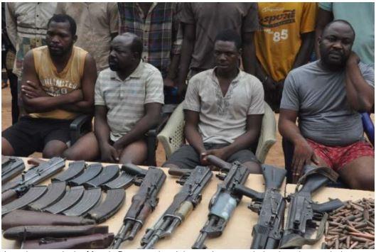 Police nab gun dealer, 10 others on the Benue-Taraba axis