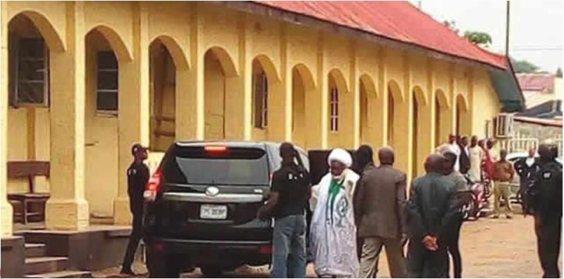 El-Zakzaky appears in court first time since 2015