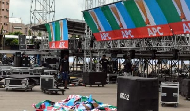 Eagle Square agog as 6800 delegates set to elect APC's new NWC